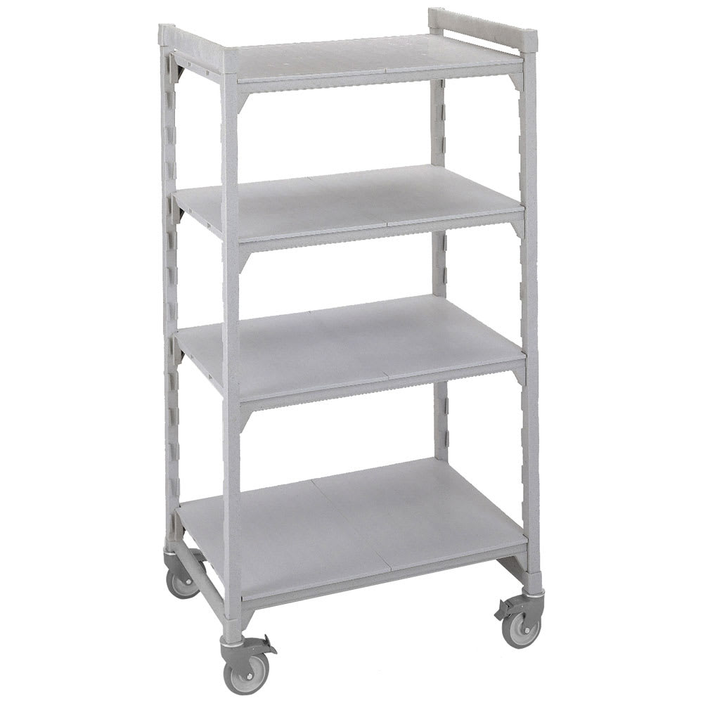 "Cambro CSUHD44486S480 48"" Floor Track Shelving Unit, End Unit Supported"