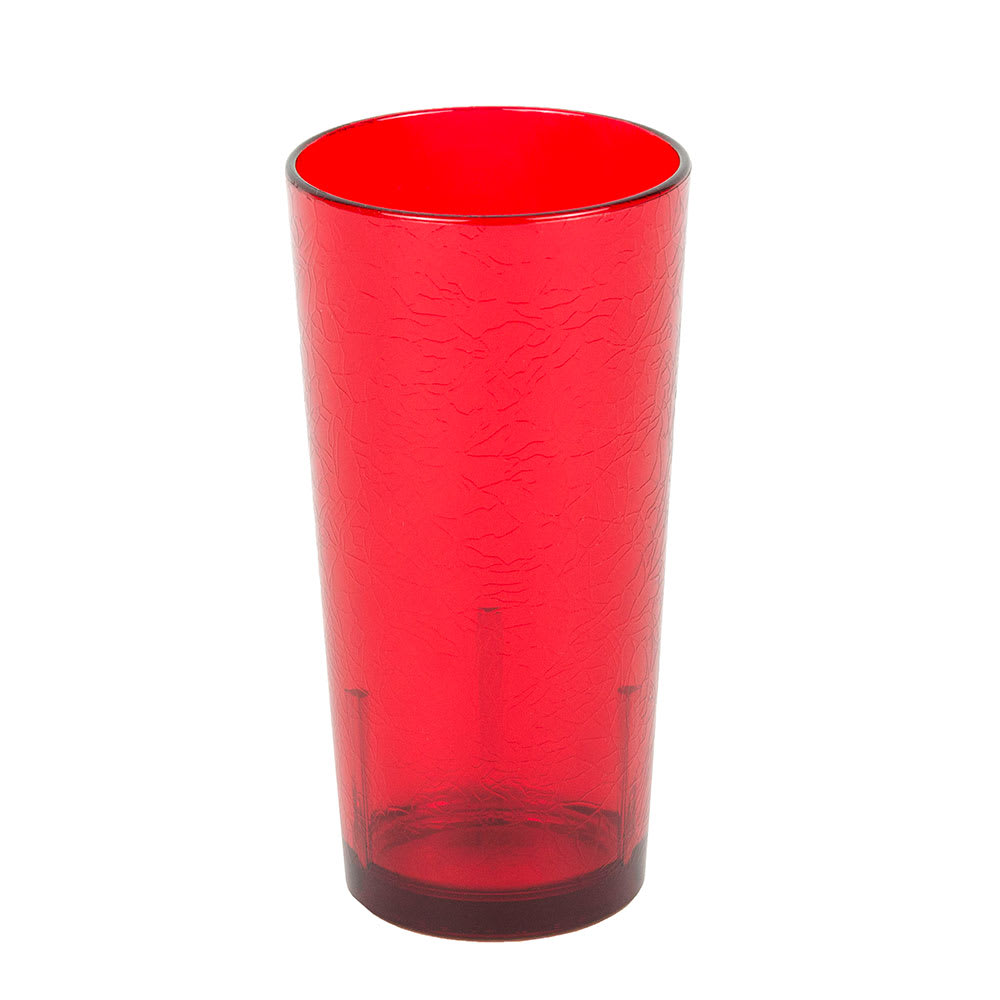 Cambro D16156 16 oz Del Mar Tumbler - Ruby Red