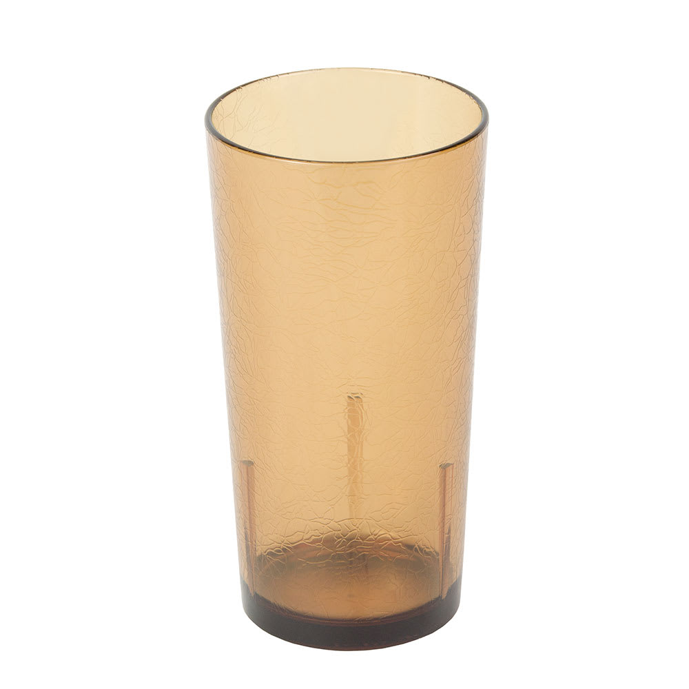 Cambro D24609 24 oz Del Mar Tumbler - Light Amber