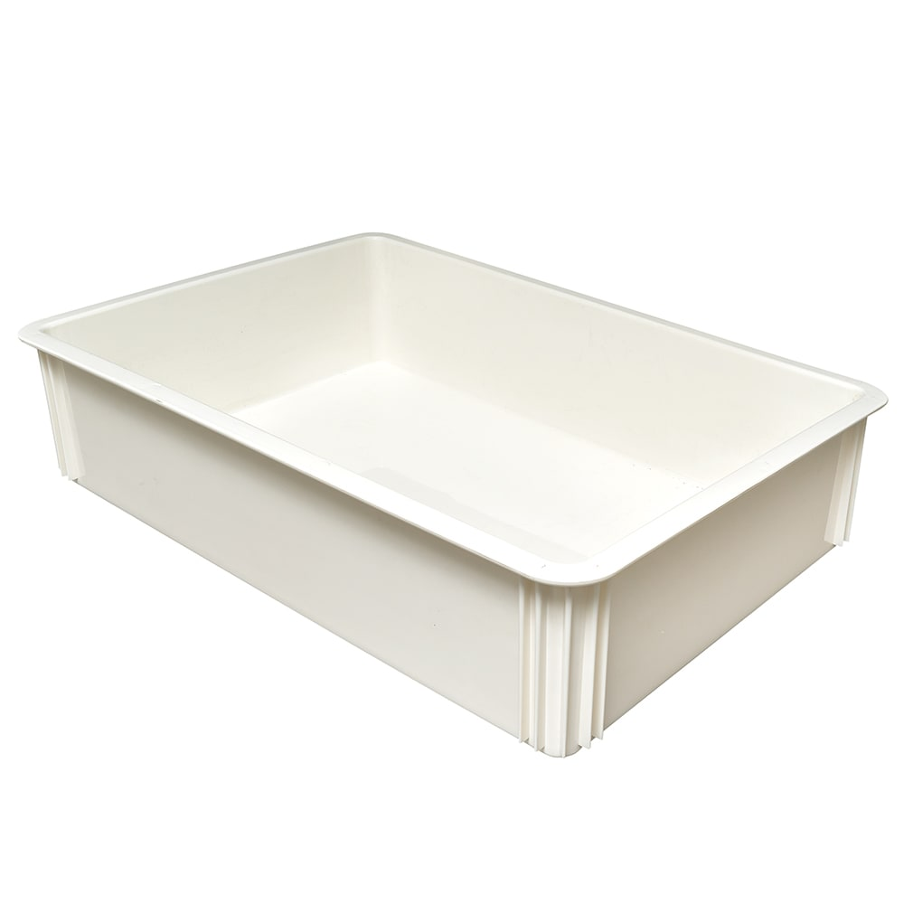 """Cambro DB18266CW148 Pizza Dough Box - 26x18x6"""" White"""