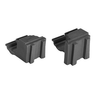 Cambro ECC1580 Camshelving® Elements Corner Connector Set, Brushed Graphite
