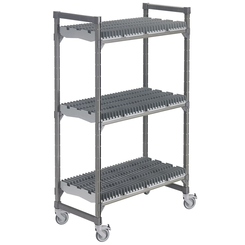 Cambro EDRC244878PKG 3 Level Mobile Drying Rack for Trays