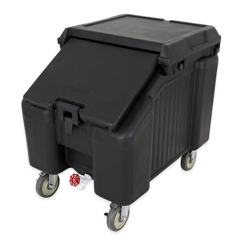 """Cambro ICS100L110 100-lb Ice Caddy - Sliding, Slant Top, 28.75"""" H"""