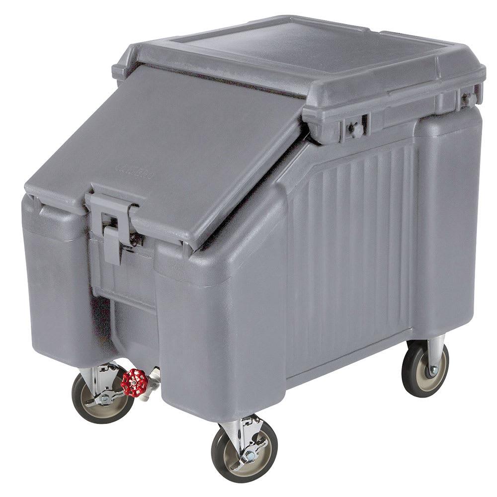 """Cambro ICS100L191 100 lb Ice Caddy - Sliding, Slant Top, 28.75"""" H"""