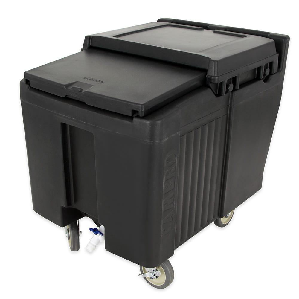 """Cambro ICS125L110 125 lb Ice Caddy - Sliding, Flat Top, 29.25"""" H"""