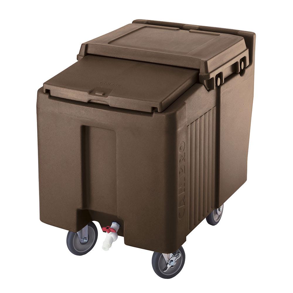 """Cambro ICS125L131 125-lb Ice Caddy - Sliding, Flat Top, 29.25"""" H"""