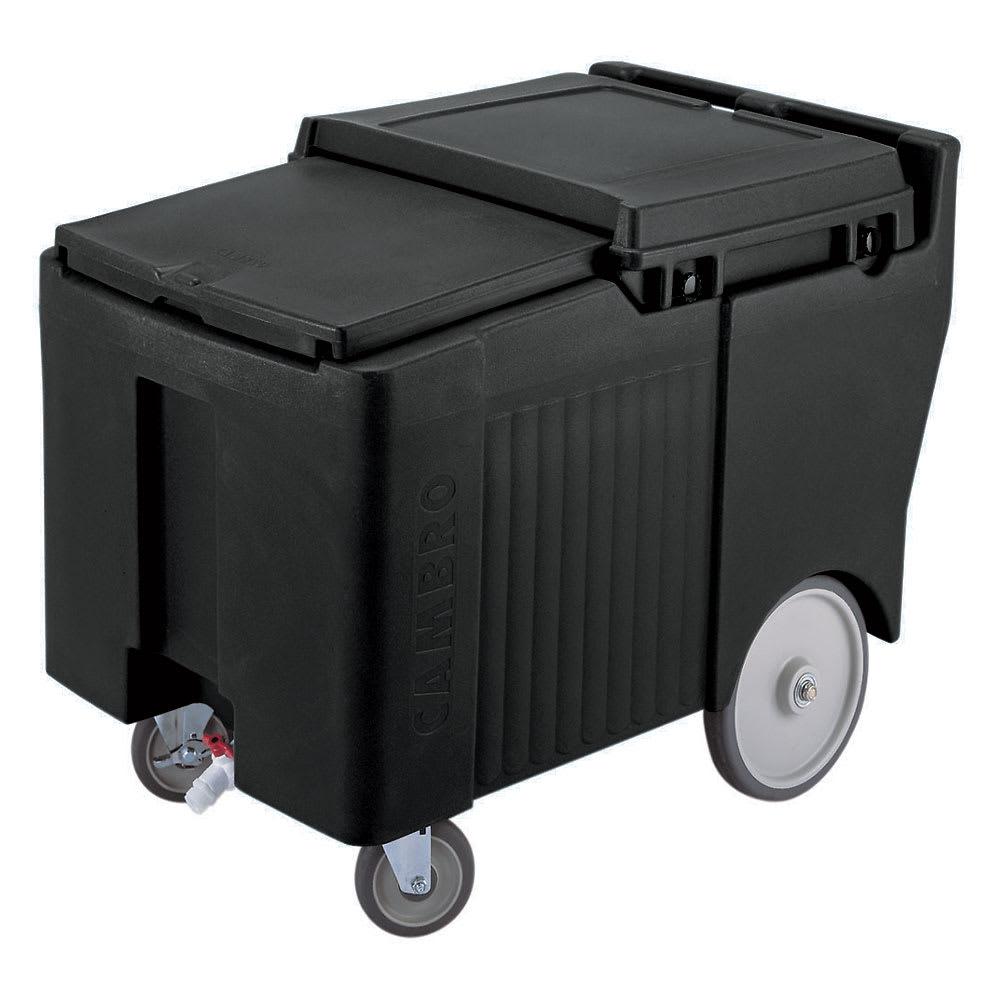 """Cambro ICS175LB110 175-lb Ice Caddy - Sliding, Flat Top, 29.25"""" H"""
