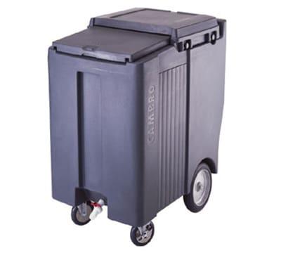 "Cambro ICS200TB180 200-lb Ice Caddy - Sliding, Flat Top, 37.50"" H"