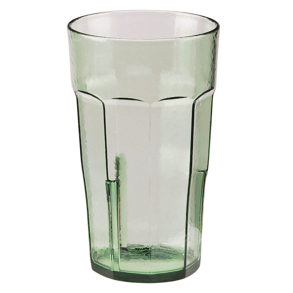 Cambro LT14427 14 oz Laguna Fluted Tumbler - Spanish Green
