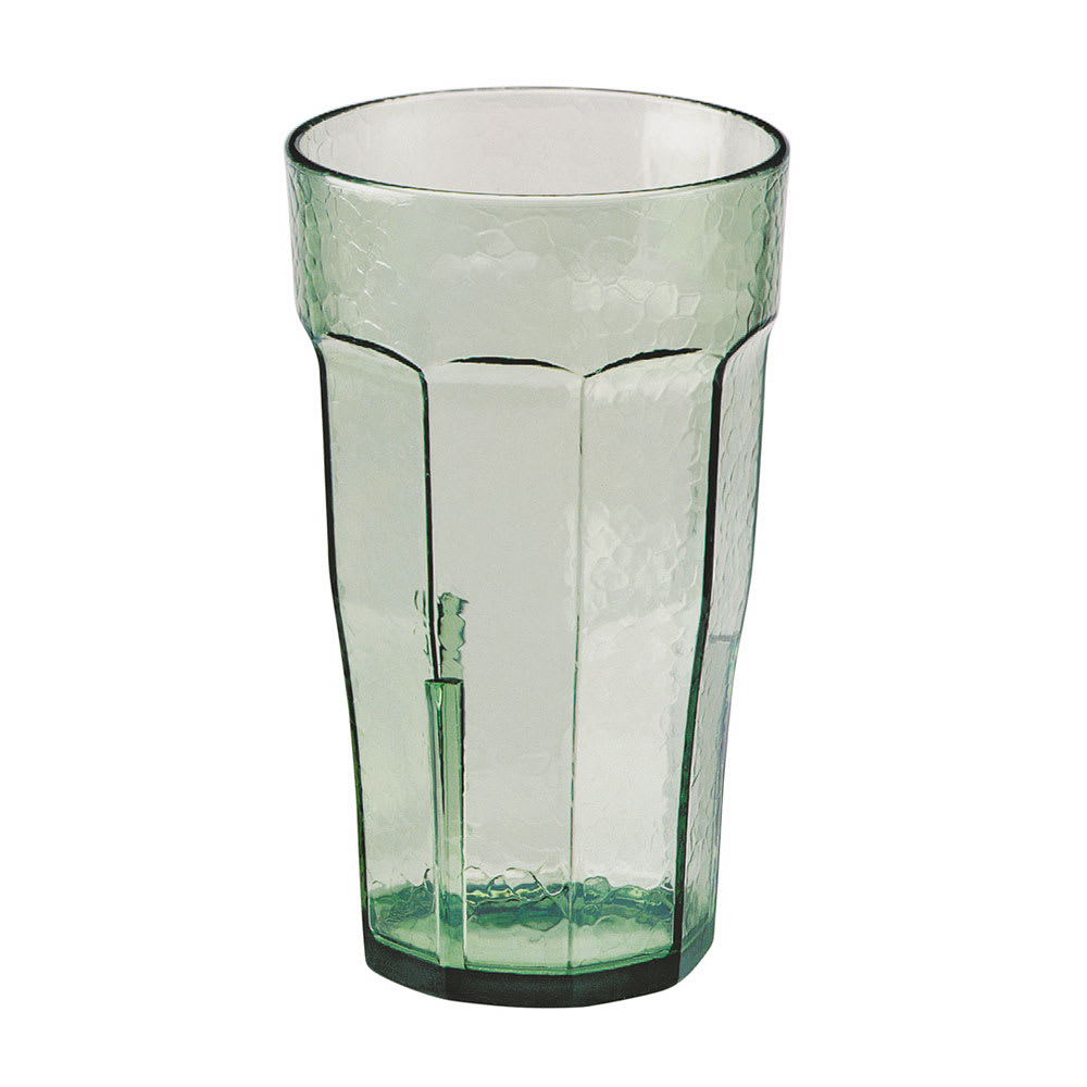 Cambro LT8427 8 oz Laguna Fluted Tumbler - Spanish Green