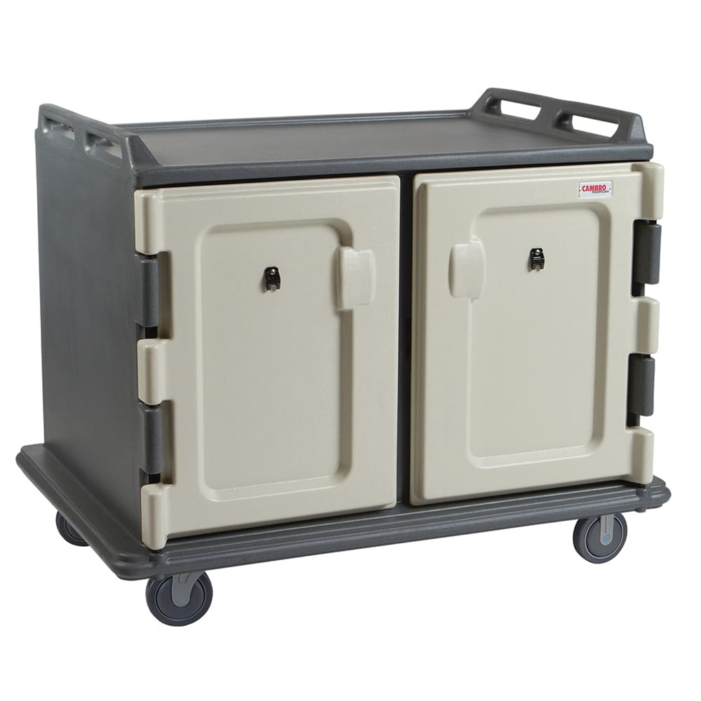 Cambro MDC1520S20191 20 Tray Ambient Meal Delivery Cart