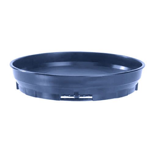 "Cambro MDSCDB9 497 9-1/2"" Camduction Base - Navy Blue"