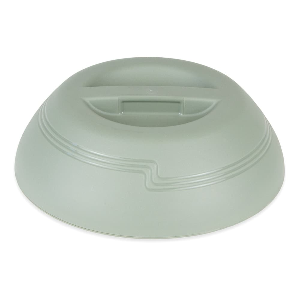 "Cambro MDSD9447 9"" Shoreline Collection Plastic Dome Cover - Meadow"