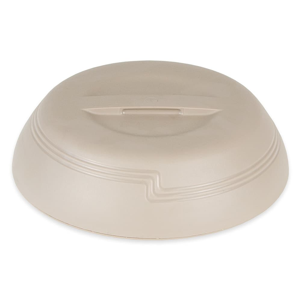 "Cambro MDSD9457 9"" Shoreline Collection Plastic Dome Cover - Wheat"