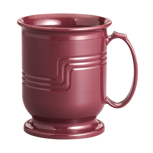 Cambro MDSM8487 8 oz Shoreline Collection Mug - Cranberry
