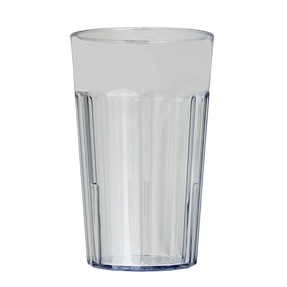 Cambro NT10152 10-oz Newport Fluted Tumbler - Clear