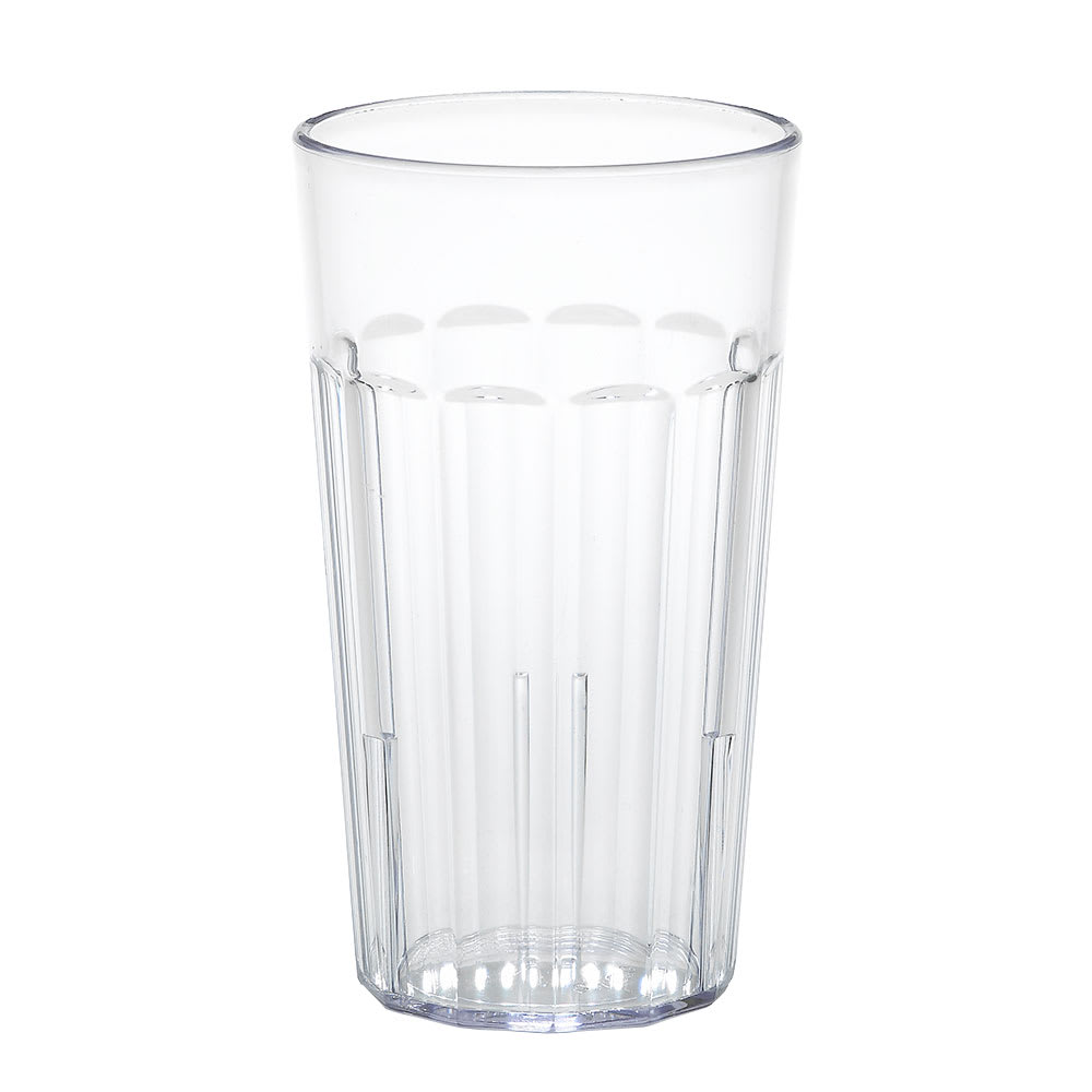 Cambro NT12152 12.6 oz Newport Fluted Tumbler - Clear