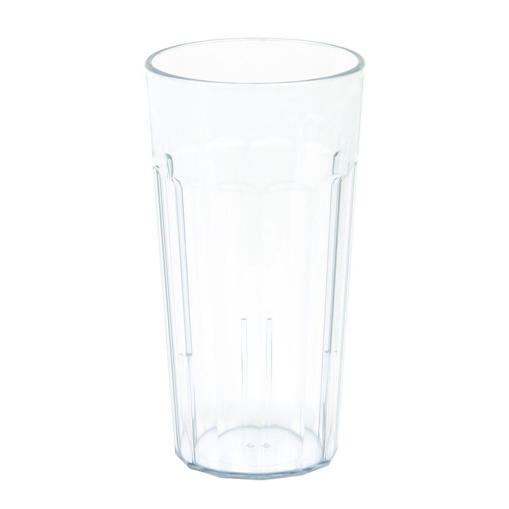 Cambro NT20152 22 oz Newport Fluted Tumbler - Clear