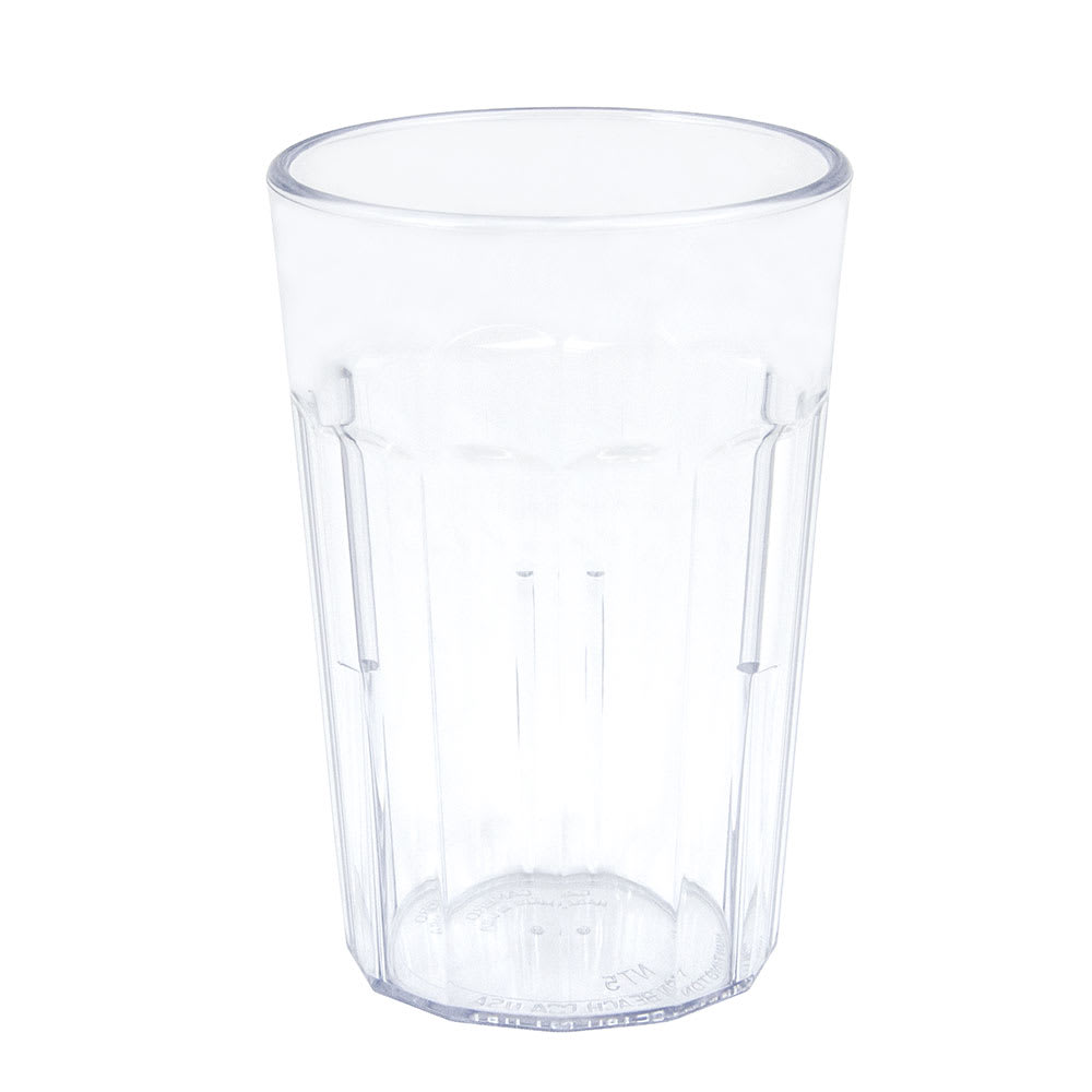 Cambro NT5152 6.4 oz Newport Fluted Tumbler - Clear