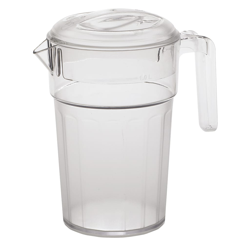 Cambro PC34CW135 34-oz Camwear® Pitcher - Polycarbonate, Clear
