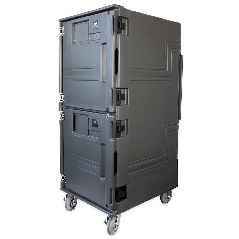 Cambro PCUHC615 Pro Cart Ultra™ Hot/Cold Food Pan Carrier w/ 14 Pan Capacity - Charcoal Gray, 110v