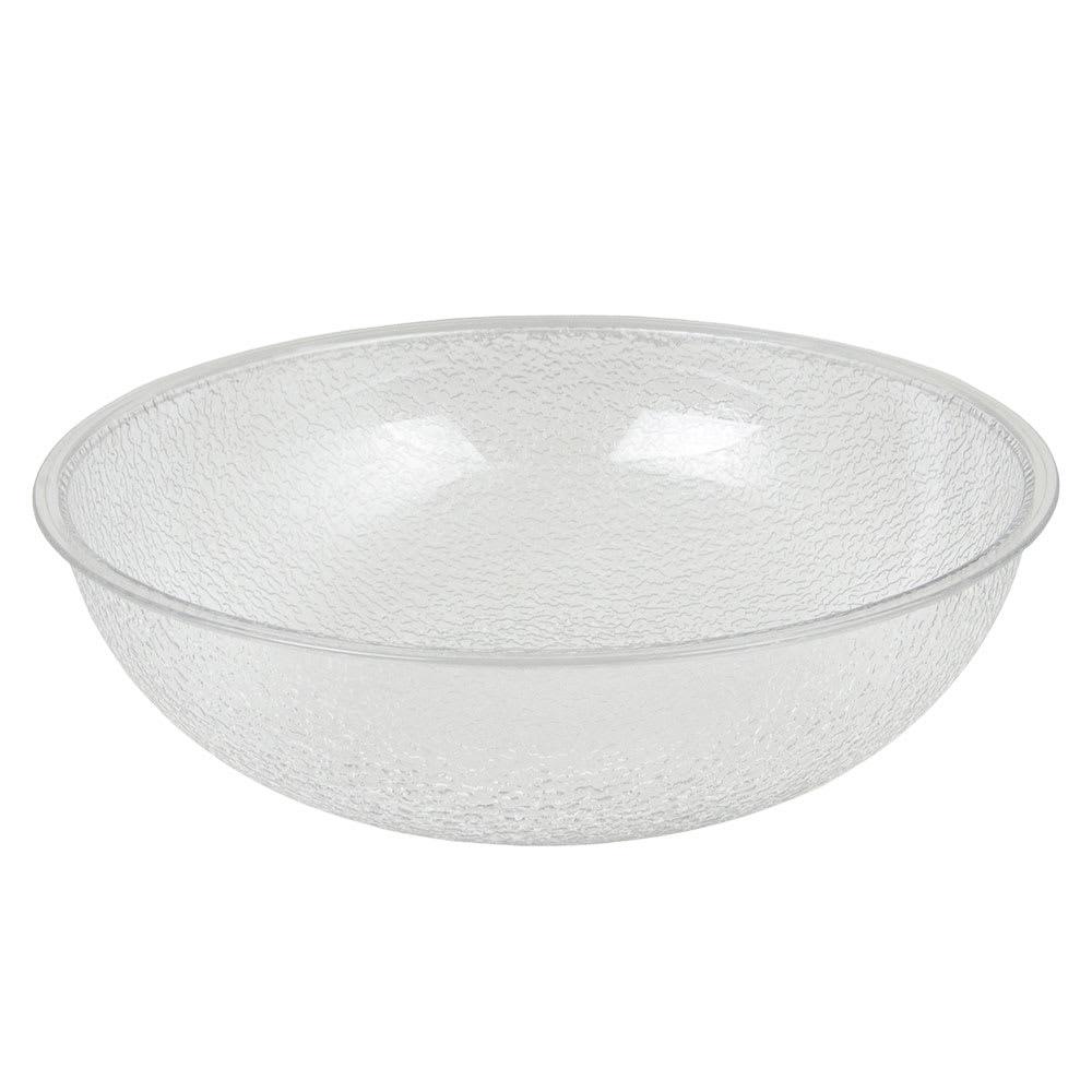 "Cambro PSB12176 12"" Camwear Salad Bowl - 5.8 qt Capacity, Pebbled"