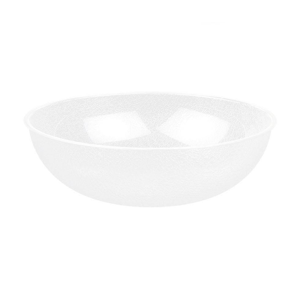 "Cambro PSB15176 15"" Camwear Salad Bowl - 11.2 qt Capacity, Pebbled"