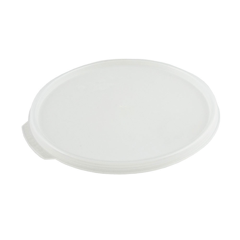 Cambro RFS12SCPP190 Camwear Seal Cover, for 12, 18 & 22-qt Clear Containers, Round, Translucent