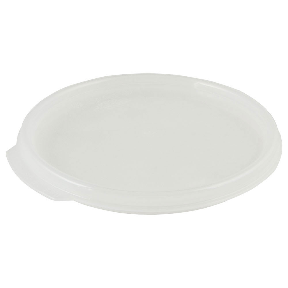 Cambro RFS2SCPP190 Camwear Seal Cover, for 2 & 4-qt Clear Containers, Round, Translucent