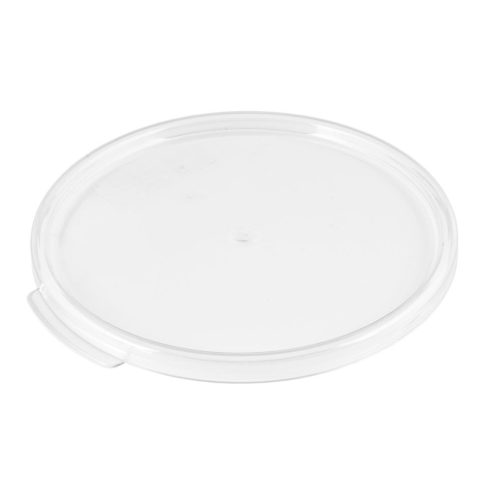 Cambro RFSCWC6135 Camwear Cover, for 6 & 8 qt Clear Containers, Clear
