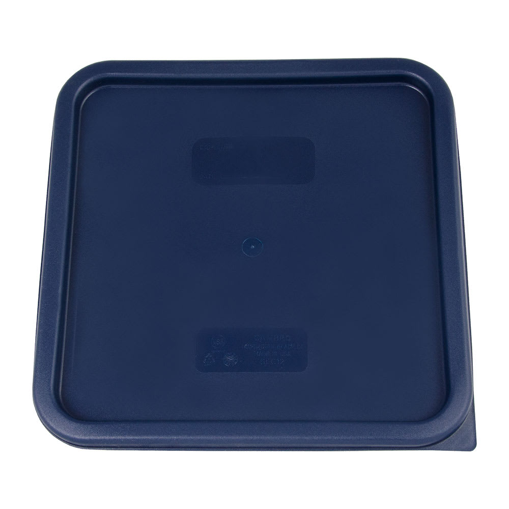 Cambro SFC12453 Cover, for 12, 18 & 22-qt Containers, Polyethylene,  Blue