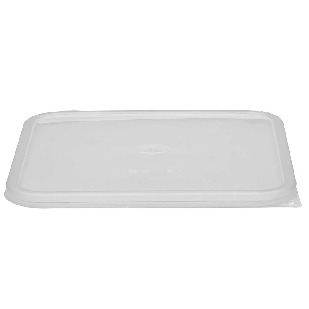 Cambro SFC12SCPP190 Cover for 12, 18, & 22-qt CamSquare® Containers - Polyethylene, Translucent