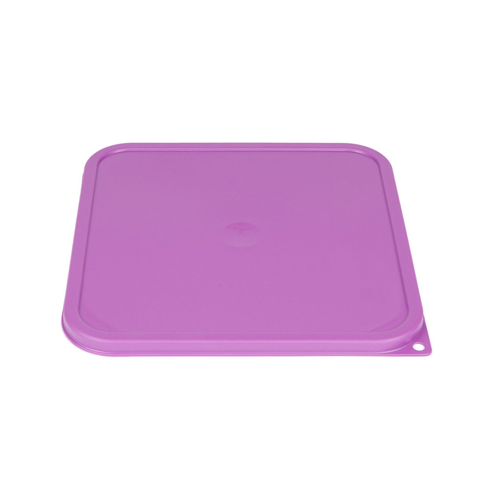 Cambro SFC12SCPP441 Cover for 12, 18 & 22 qt Containers - Allergen-Free, Purple