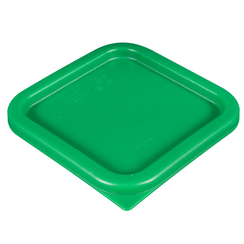 Cambro SFC2452 Cover, for 2 & 4 qt Containers, Kelly Green