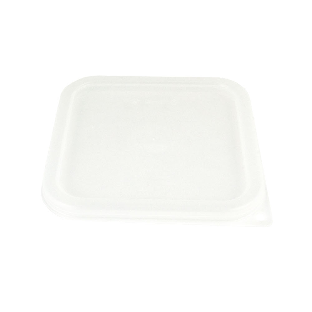 Cambro SFC2SCPP190 CamSquare Cover, for 2 & 4 qt Clear Containers, Translucent
