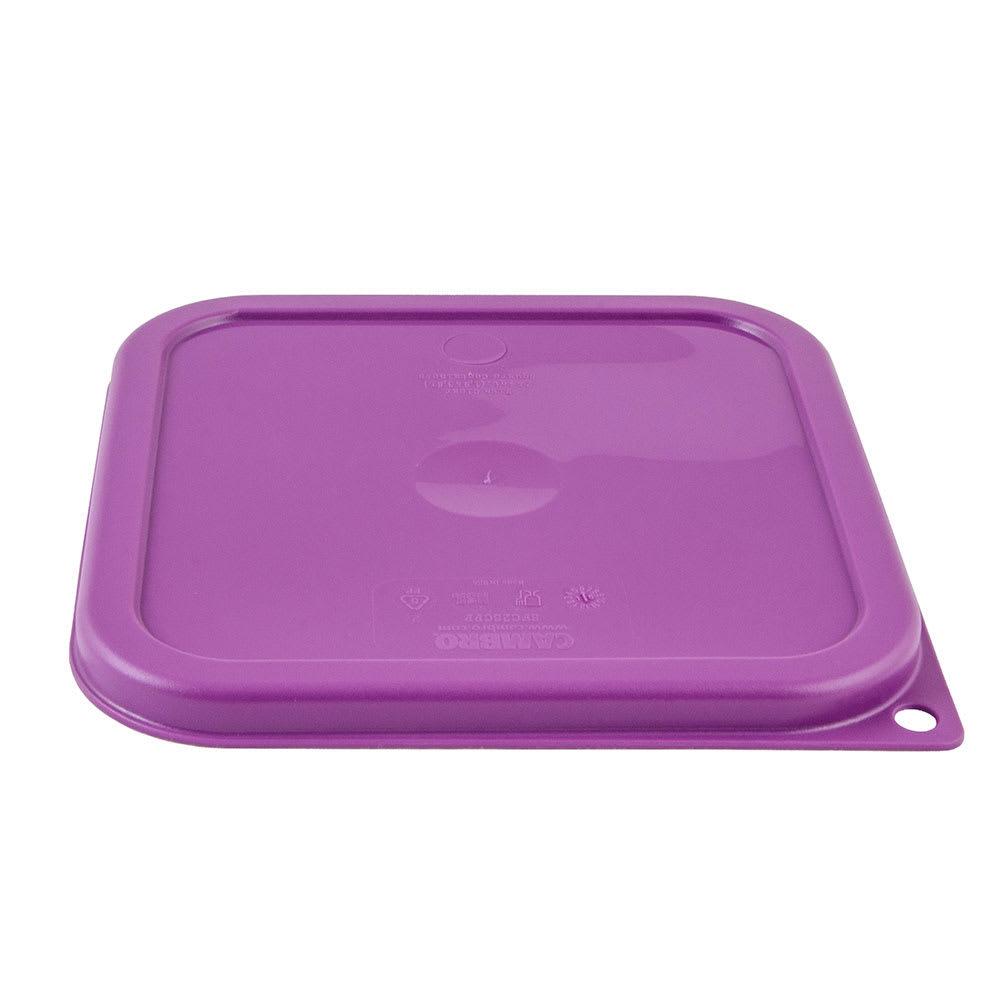 Cambro SFC2SCPP441 Cover for 2 & 4 qt Containers - Allergen-Free, Purple