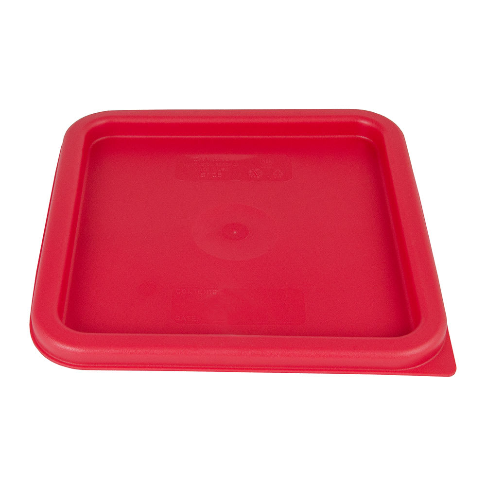 Cambro SFC6451 CamSquare Cover, for 6 & 8 qt Containers, Winter Rose