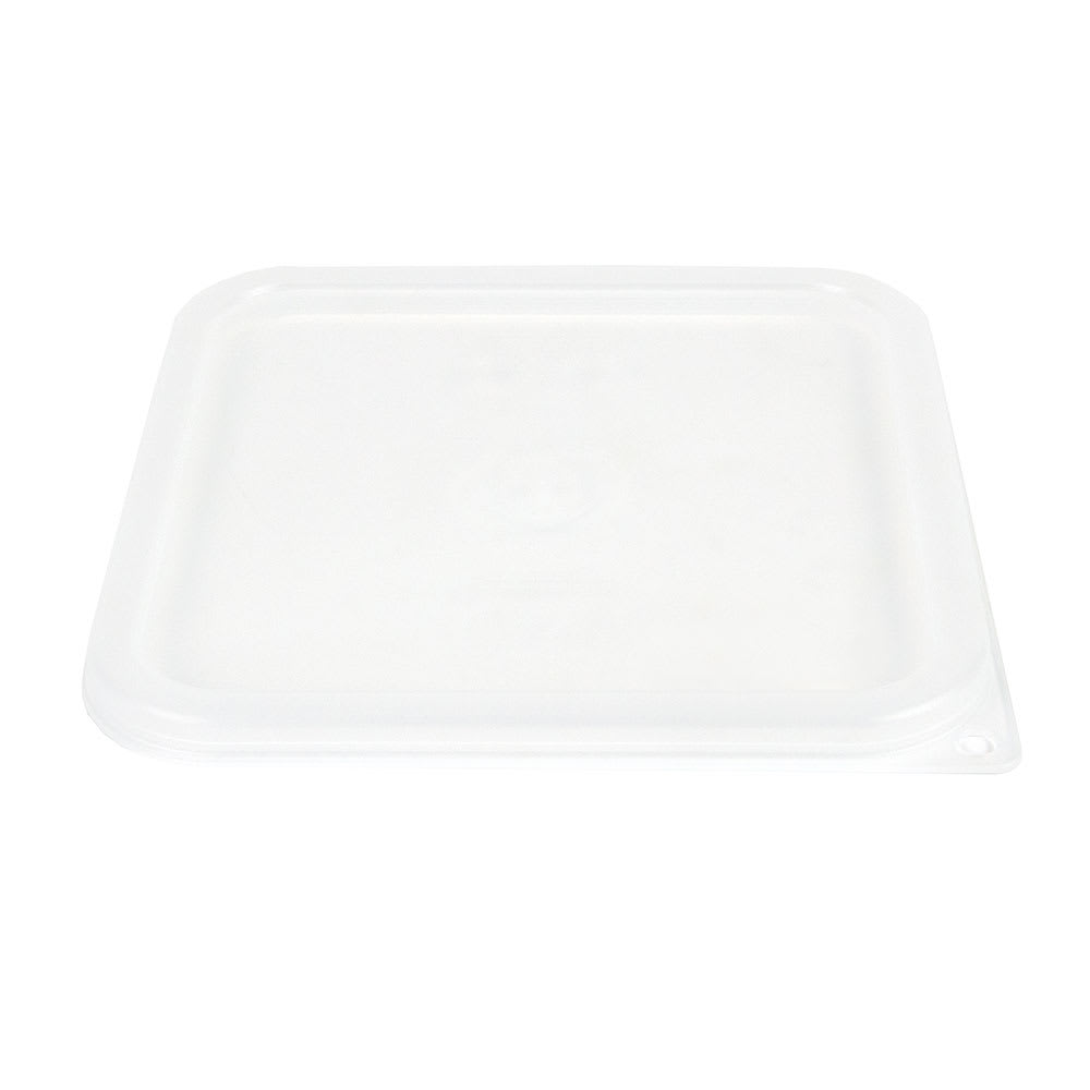 Cambro SFC6SCPP190 CamSquare Cover, for 6 & 8-qt Clear Containers, Translucent