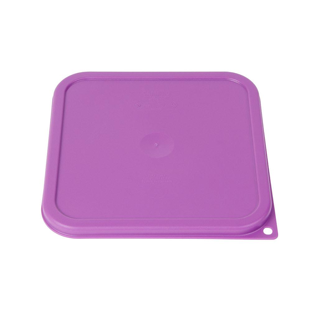 Cambro SFC6SCPP441 Cover for 6 & 8 qt Containers - Allergen-Free, Purple