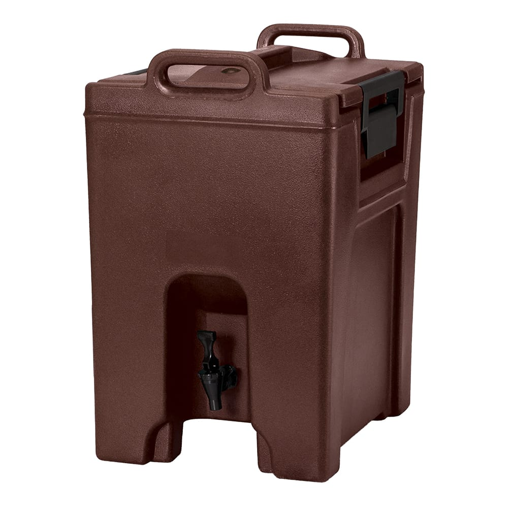 Cambro UC1000131 10 1/2 gal Ultra Camtainer Beverage Carrier - Insulated, Dark Brown