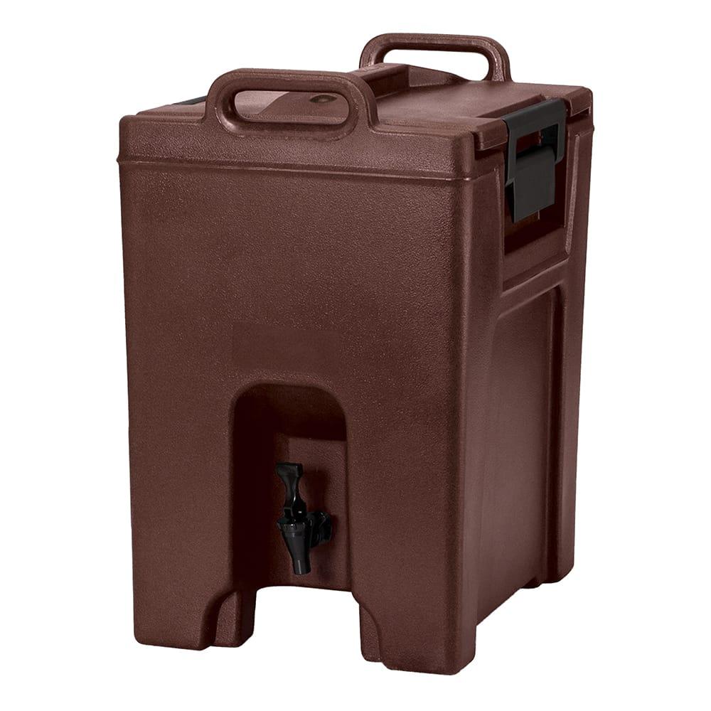 Cambro UC1000131 10.5 gal Ultra Camtainer® Insulated Beverage Dispenser, Dark Brown