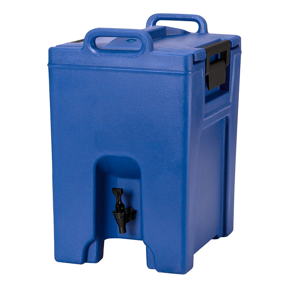 Cambro UC1000186 10 1/2 gal Ultra Camtainer Beverage Carrier - Insulated, Navy Blue
