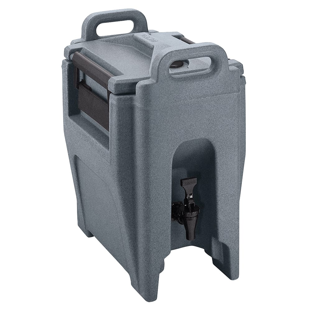 Cambro UC250191 2-3/4-gal Ultra Camtainer Beverage Carrier - Insulated, Granite Gray