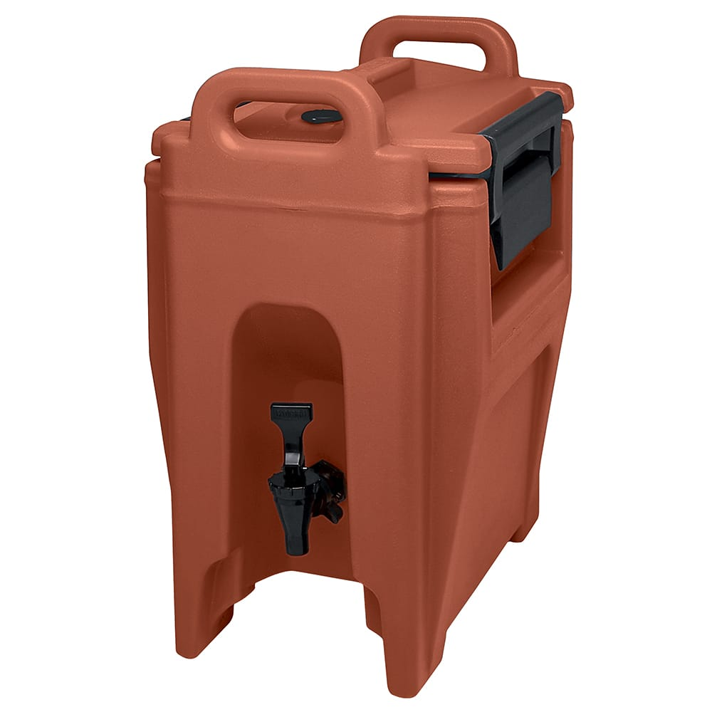 Cambro UC250402 2-3/4-gal Ultra Camtainer Beverage Carrier - Insulated, Brick Red