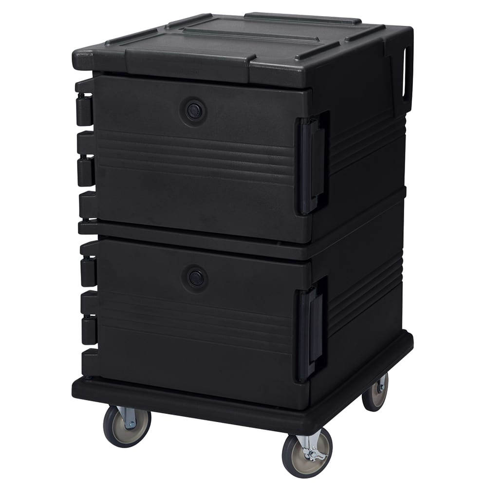 Cambro UPC1200110 90-qt Camcarrier Ultra Pan Carrier - Front Loading, Black