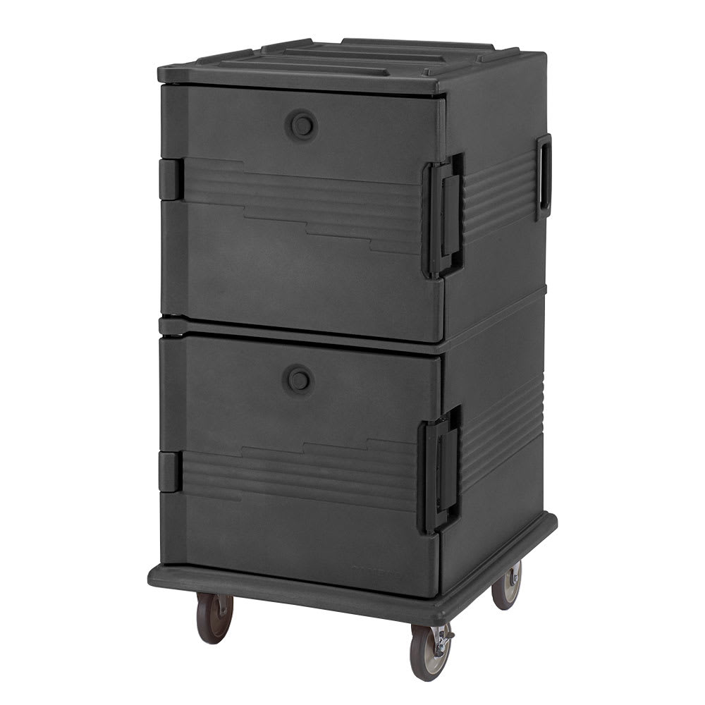Cambro UPC1600110 Ultra Camcart® Insulated Food Carrier - 120 qt w/ (24) Pan Capacity, Black