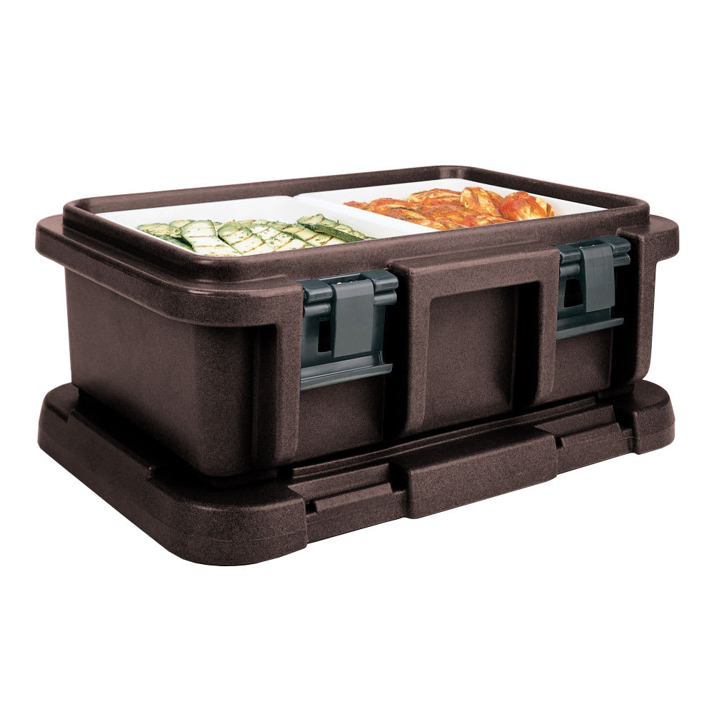 Cambro UPC160131 20 qt Camcarrier Ultra Pan Carrier - (1)Full Size Pan, Dark Brown