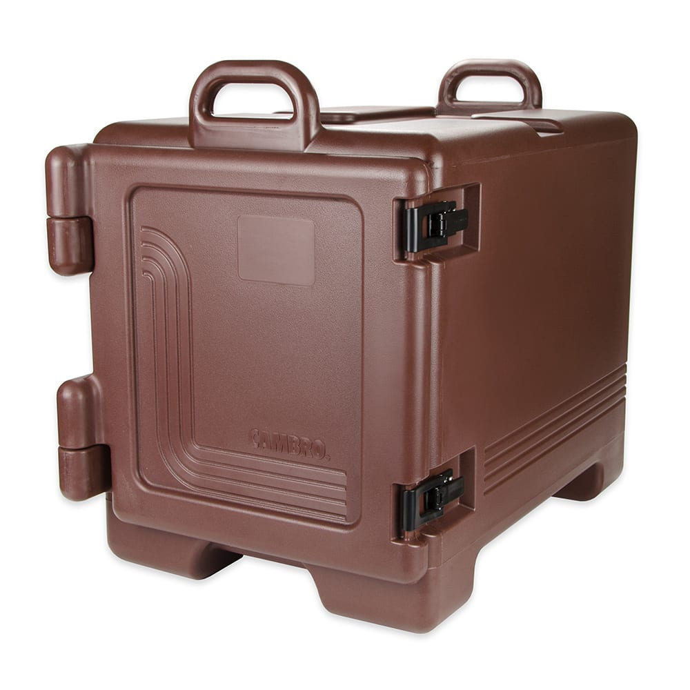 Cambro UPC300131 Camcarrier® Ultra Pan Carrier w/ 4-Pan Capacity, Dark Brown