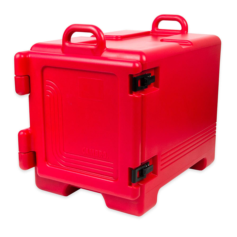 Cambro UPC300158 Camcarrier® Ultra Pan Carrier w/ 4 Pan Capacity, Hot Red
