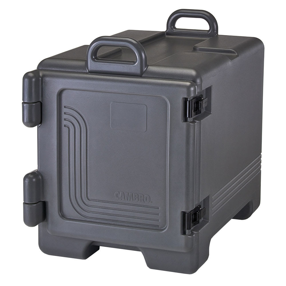 Cambro UPC300615 Camcarrier® Ultra Pan Carrier w/ 4-Pan Capacity, Charcoal Gray
